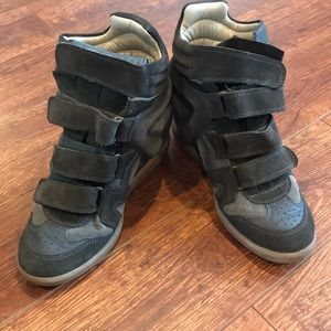 Isabel Marant wedge sneaker size 37